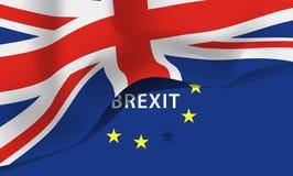 Flagge Großbritanniens, Vereinigtes Königreich Stockbild