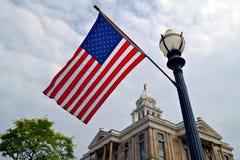 Flagge in Ohio Stockfotografie