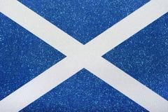 Flagge Schottland Royaltyfria Bilder