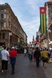 Flagge Togo Stockfoto