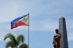 Flagge und Statut Lizenzfreie Stockbilder