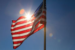 Flagge USA 2 Lizenzfreies Stockfoto