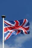 Flagge Vereinigten Königreichs Stockbild