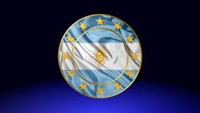 Flagge von Argentinien, Animation