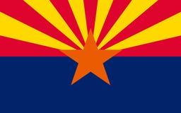 Flagge von Arizona, USA stockfotos