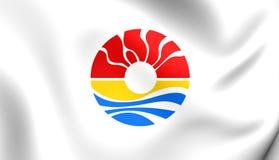 Flagge von Benito Juarez City Quintana Roo, Mexiko Lizenzfreie Stockfotografie