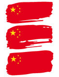 Flagge von China Stockfoto