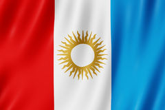 Flagge von Cordoba-Provinz, Argentinien Lizenzfreie Stockfotos