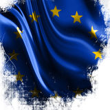 Flagge von Europa Stockbild