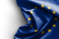 Flagge von Europa Stockfoto
