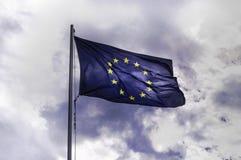 Flagge von Europa stockbilder