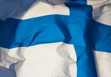 Flagge von Finnland Lizenzfreies Stockbild