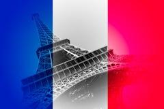 Flagge von Frankreich Lizenzfreies Stockbild