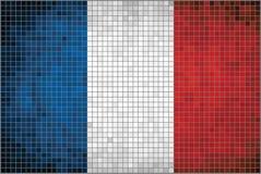Flagge von Frankreich Stockbilder