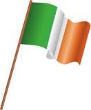 Flagge von Irland Lizenzfreie Stockfotos