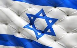Flagge von Israel auf capitone lizenzfreie stockfotos