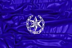 Flagge von Israel Police Lizenzfreies Stockfoto