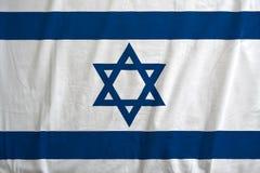 Flagge von Israel-Wellenartig bewegen lizenzfreies stockbild