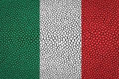 Flagge von Italien Stockbild