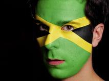 Flagge von Jamaika Stockbild