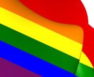 Flagge von LGBT Lizenzfreies Stockbild