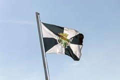 Flagge von Lissabon Stockfotografie