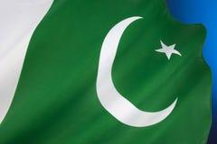 Flagge von Pakistan lizenzfreie stockfotografie