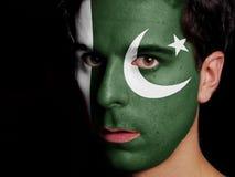 Flagge von Pakistan lizenzfreie stockbilder