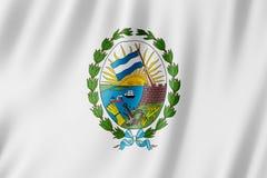 Flagge von Rosario-Stadt, Argentinien Stockfotografie