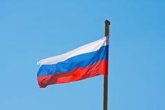 Flagge von Russland lizenzfreie stockfotografie