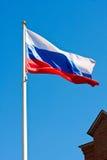 Flagge von Russland stockbilder