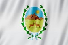 Flagge von San Luis Province, Argentinien Stockbilder
