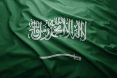 Flagge von Saudi-Arabien lizenzfreie stockfotografie