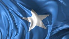 Flagge von Somalia stock abbildung