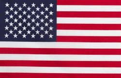 Flagge von Staaten von Amerika Stockfotos