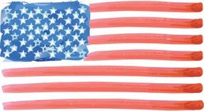 Flagge von Staaten von Amerika Stockbilder