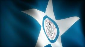 Flagge von Texas Houston