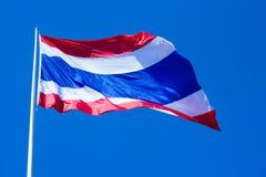 Flagge von Thailand Lizenzfreie Stockfotografie