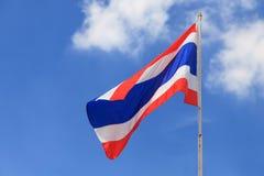 Flagge von Thailand Stockfotografie