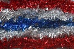 Flagge von Thailand-Jahreszeitgrüßen Stockfotos