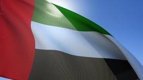 Flagge von Vereinigte Arabisch-Emiräten vektor abbildung
