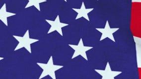 Flagge von Vereinigten Staaten, Animation 3D stock video footage