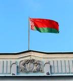 Flagge von Weißrussland Lizenzfreies Stockfoto