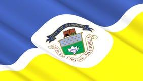 Flagge von Winnipeg Stockbilder