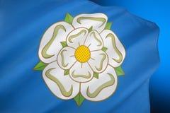 Flagge von Yorkshire - Vereinigtem Königreich lizenzfreie stockbilder