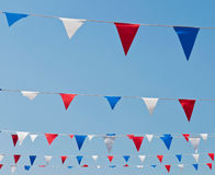 Flaggemarkierungsfahnen Lizenzfreies Stockfoto