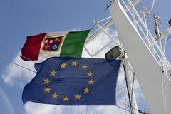 Flaggen Stockfotografie