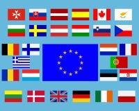 Flaggen Stock Abbildung