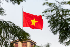 Flaggen-Turm von Hanoi Stockfoto
