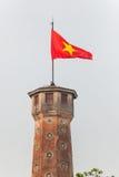 Flaggen-Turm von Hanoi Stockfotografie